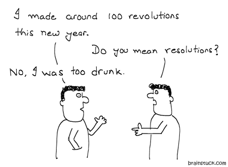 """Resolutions, New Year, Comics, Cartoons, Insane, Party, Humor, Drunk, Alcohol, Kritism, Liver, Christmas, 2011, 2010 Best of the year,"