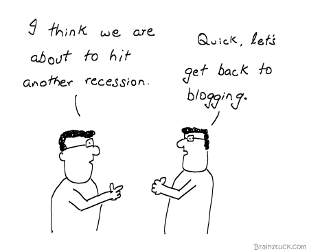 Blogging, Recession, Slowdown, slump, economy, Web 2.0, Microblogging, trolling, Internet, Lay offs