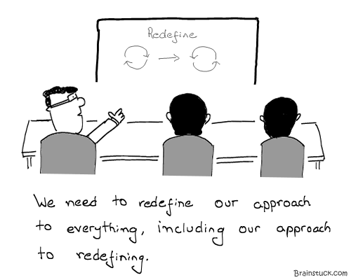 Bullshit, Boardroams, Jargon, Out of the box, Inside the box, vice versa, Employees, Productivity, Business Model, Crisis, Restructuring, Meetings, Presentation,